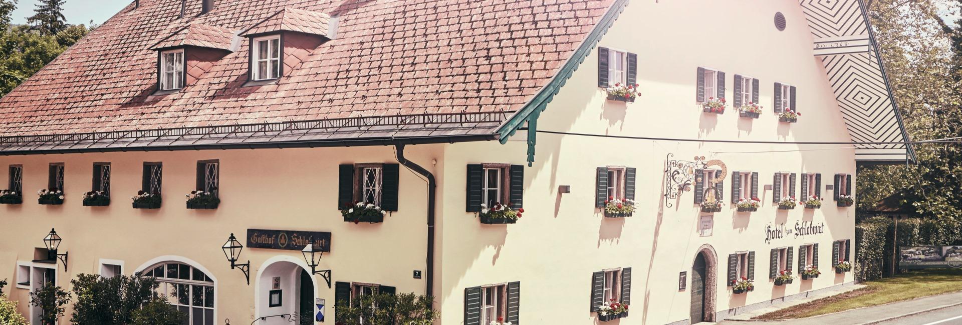 Schlosswirt zu Anif near Salzburg