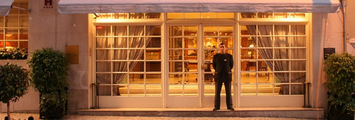 Hotel Lisboa Plaza in Lisbon, Portugal