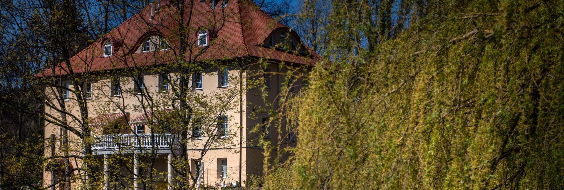 Grawert Residence in Lądek Zdroj, Dolny Slask