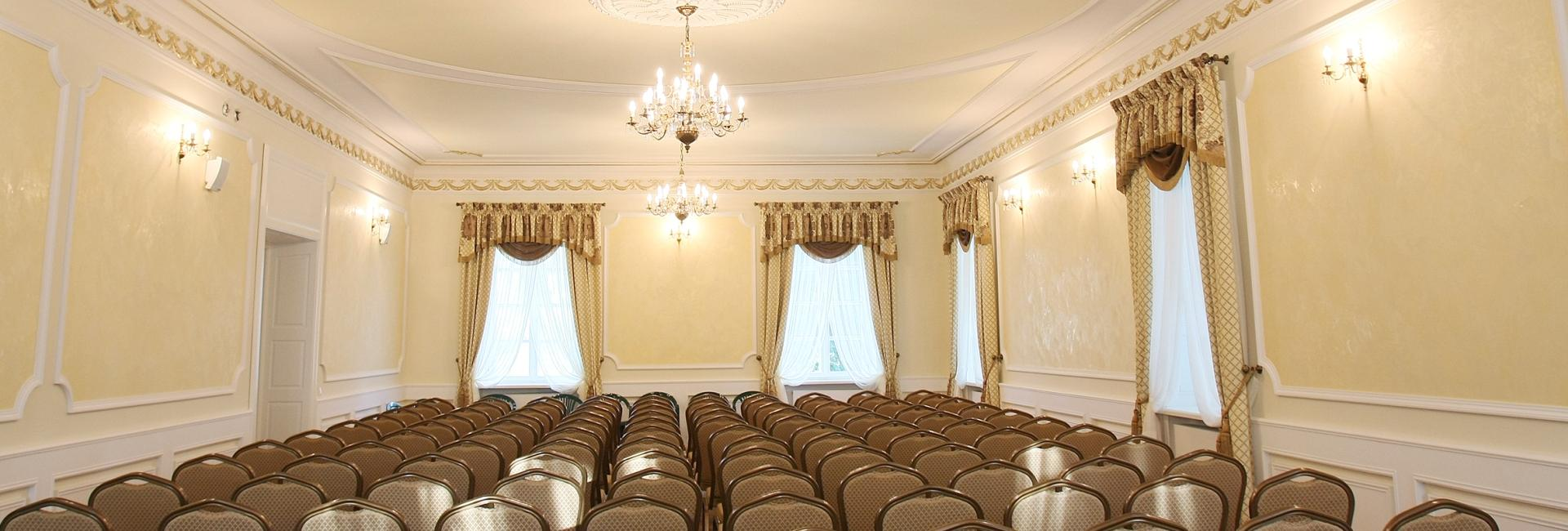 Conference room at Lochow Palace and Grange, Masovian district