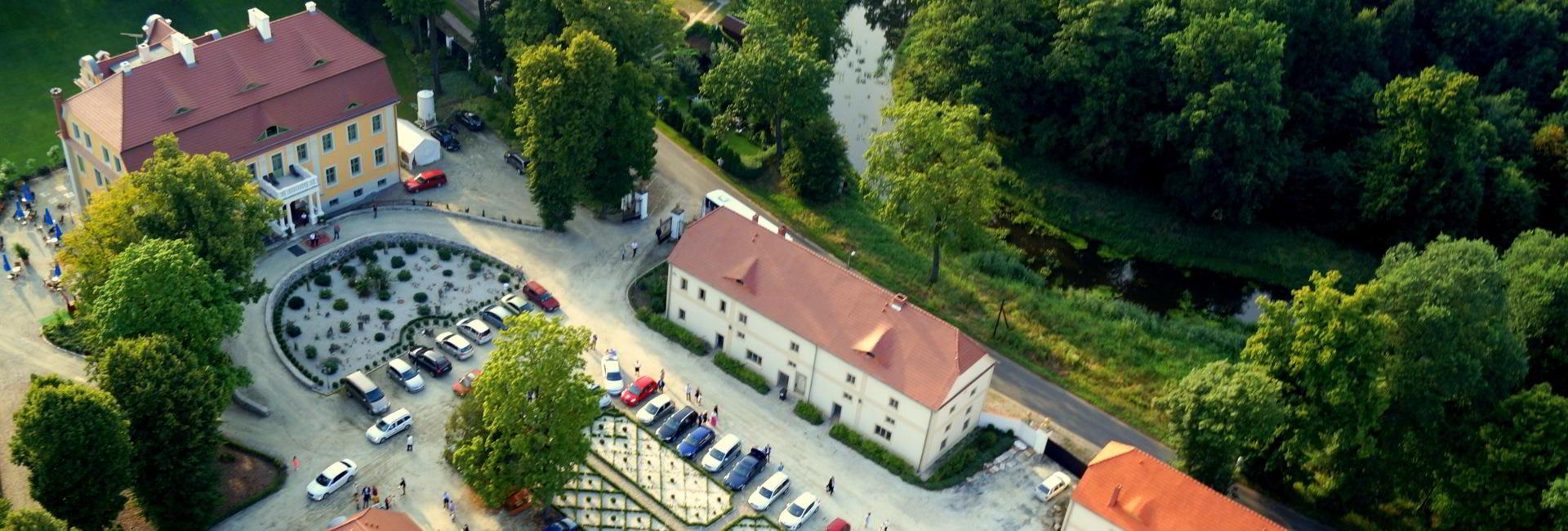 Palac Wiechlice in Szprotawa, Silesia, Poland