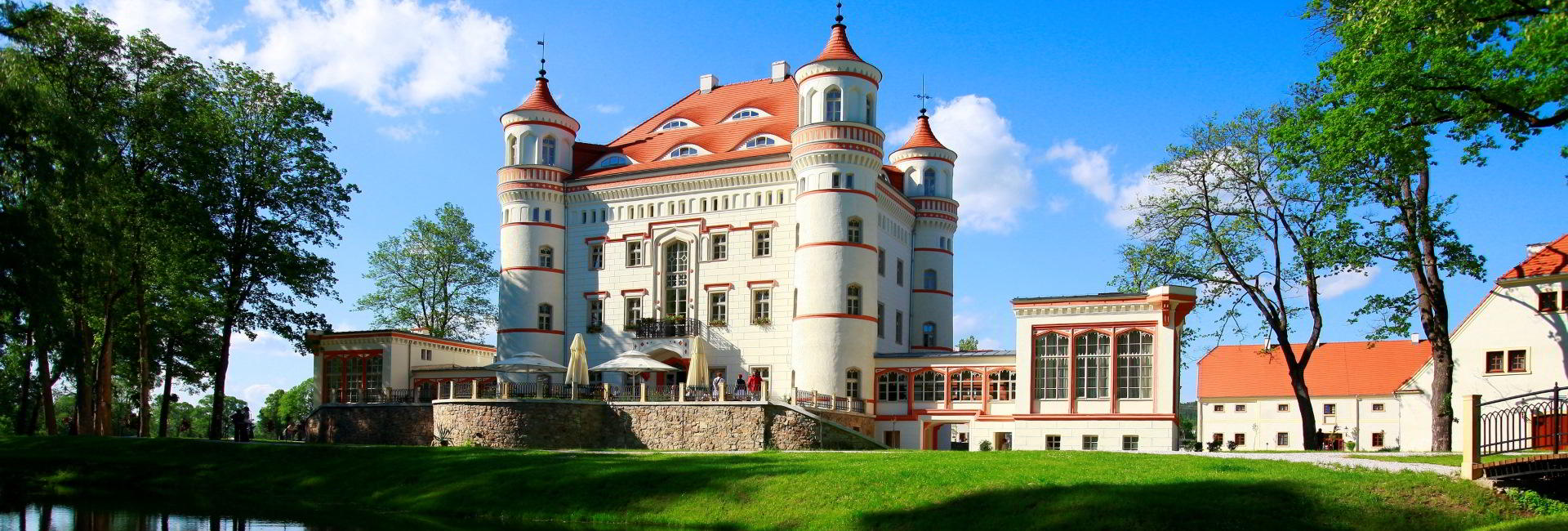 Wojanow Palace in Lower Silesia