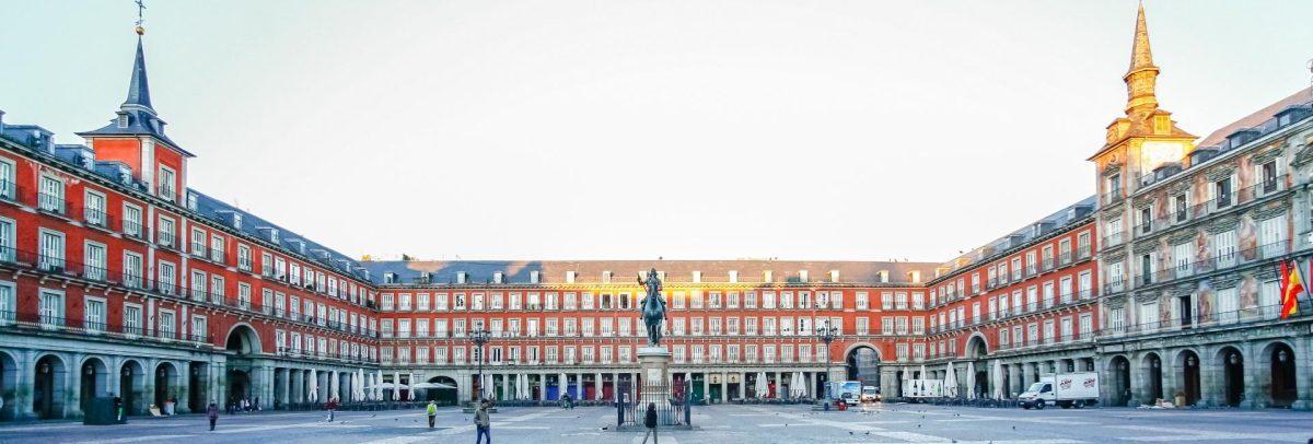 Plaza de Mayor in Madrid