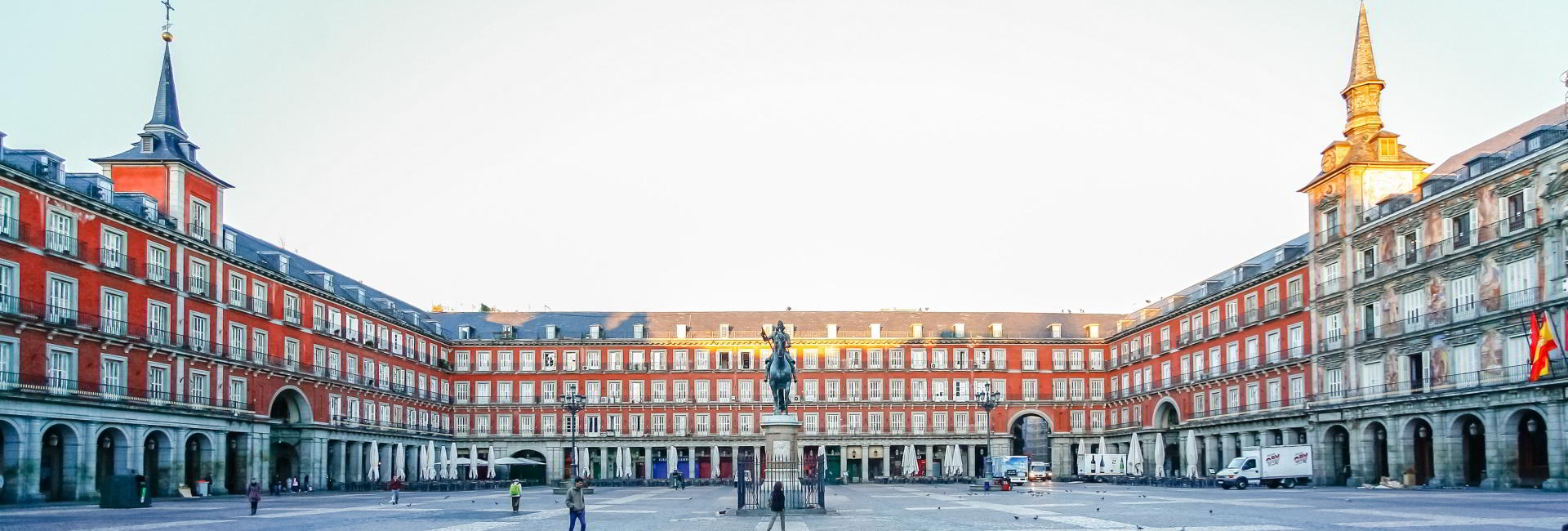 Plaza de Mayor in Madrid
