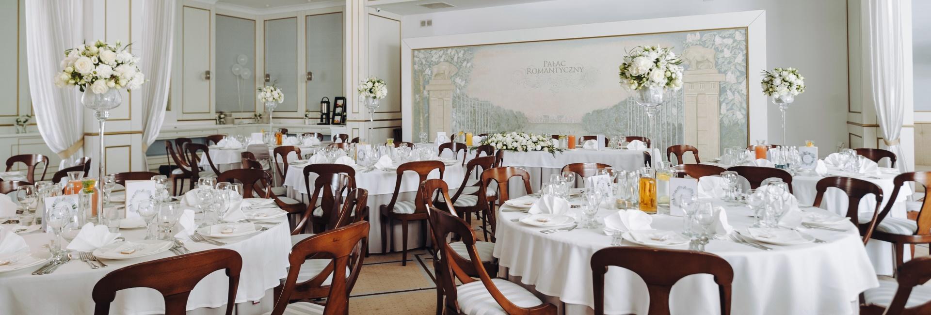 Restaurant at Hotel Romantyczny Palace in Turznie, Kuyavia Pomeranian