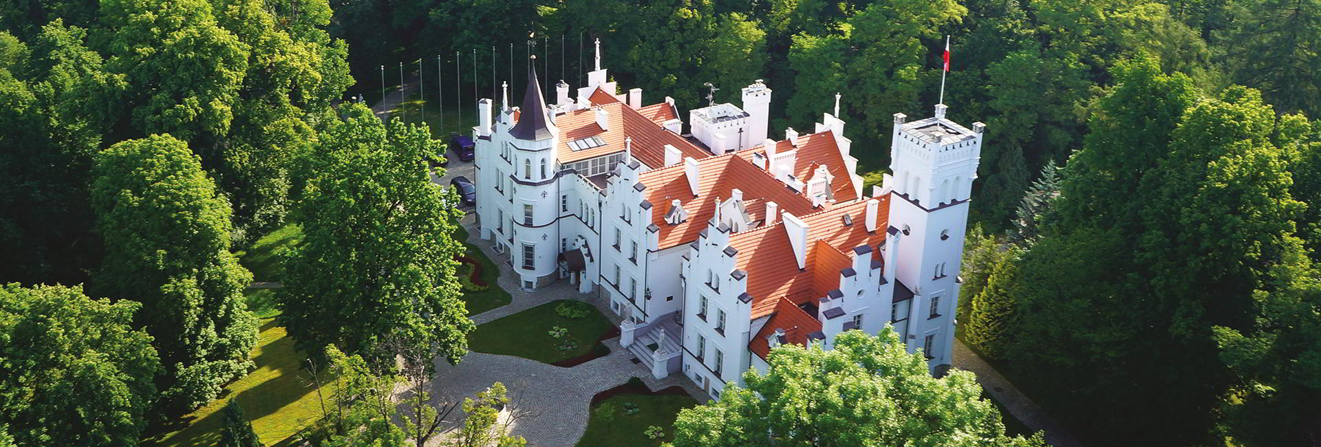 Sulislaw Palace in Grodkow near Wroclaw, Poland