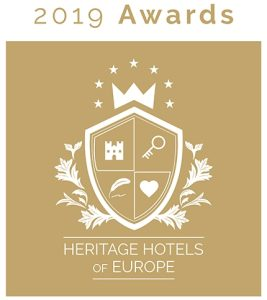 Heritage Hotels of Europe Award 2019