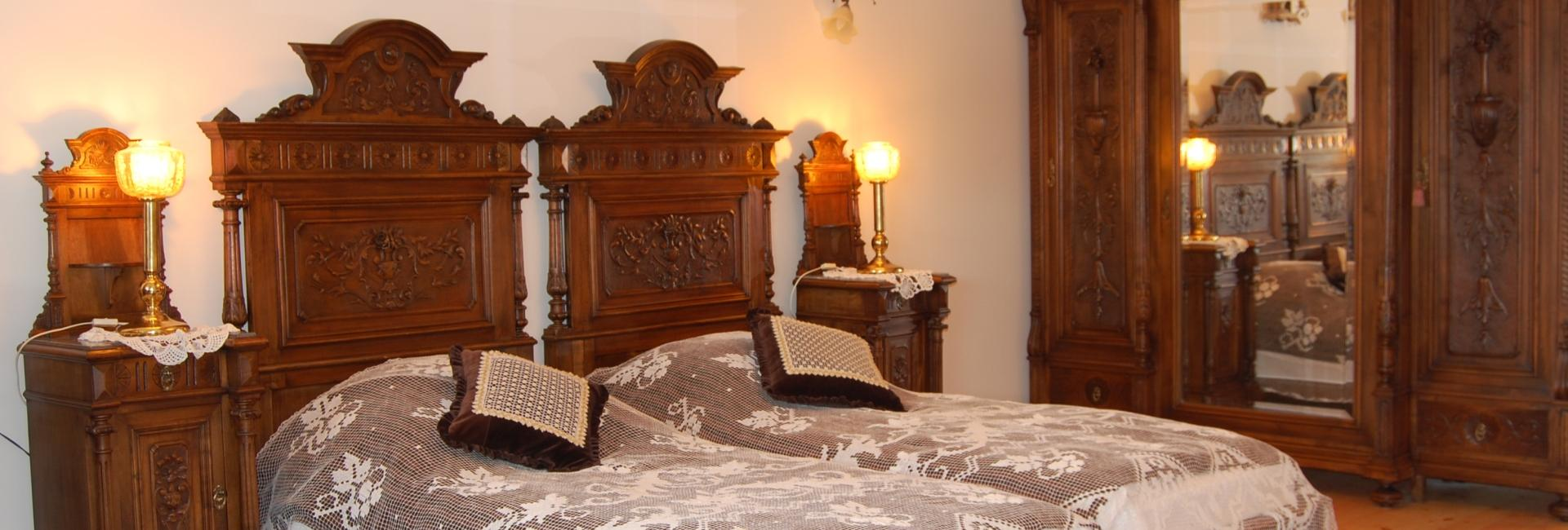 Room at Chotynia Manor House in in Sobolew