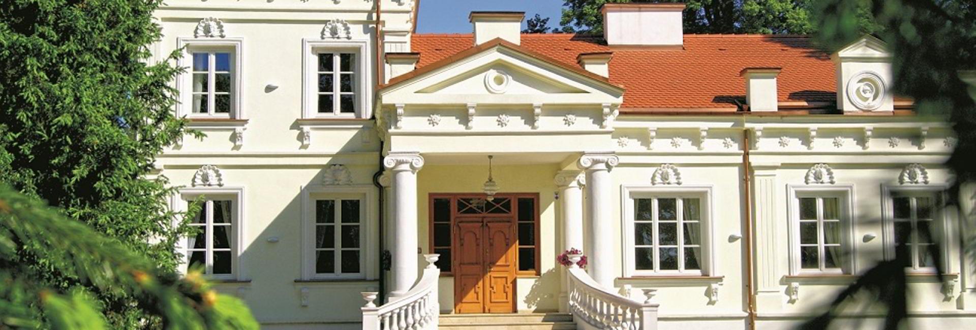 Zakow Palace in Siennica, Mińsk Mazowiecki