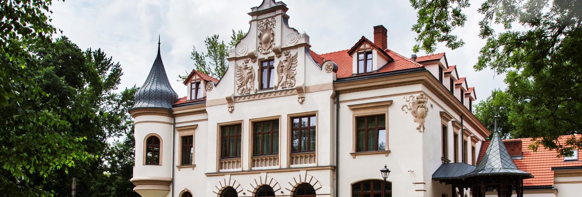 Polanka Palace in Krosno, Podkarpacie