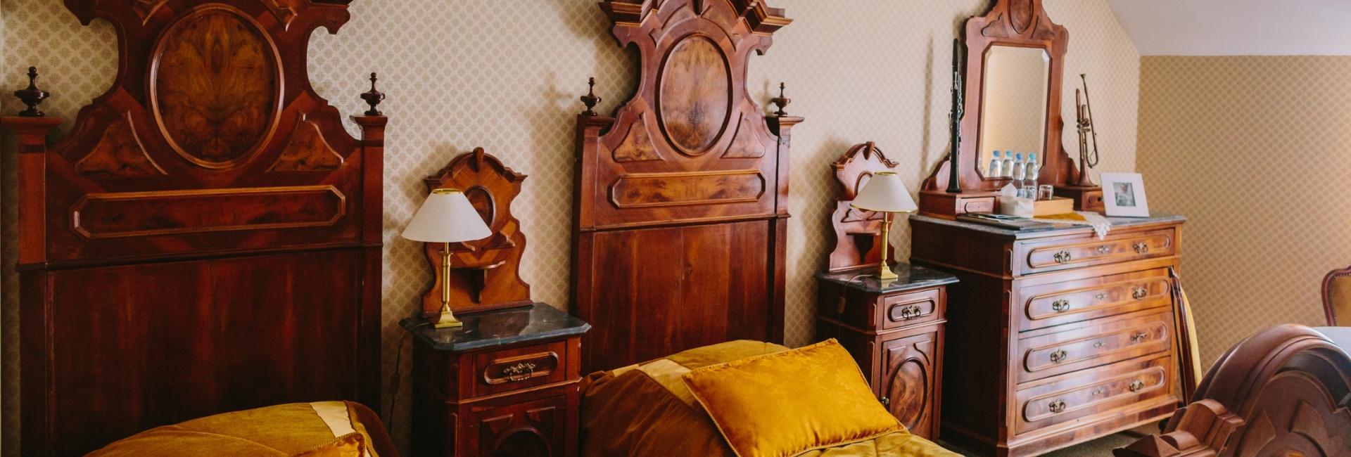 Room at Zakow Palace in Siennica, Mińsk Mazowiecki