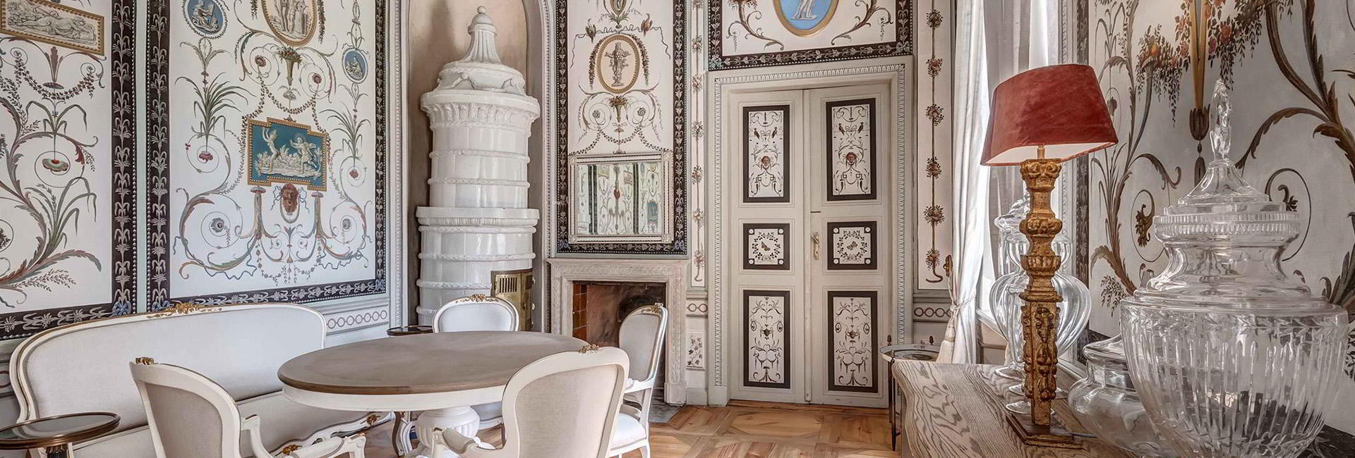 Salon at Hotel Mala Wies Palace