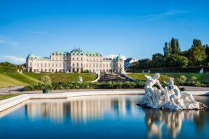 The beautiful capital Vienna