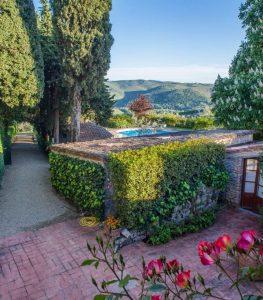 Villa Le Barone Pool