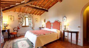 Villa Le Barone bedrooms