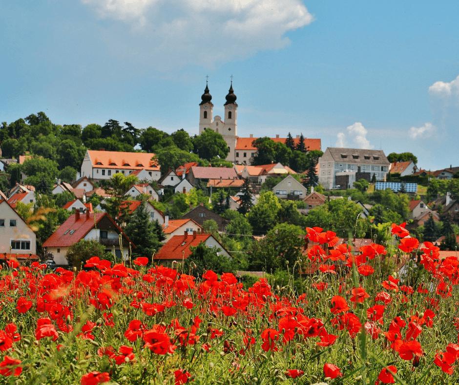 Tihany village
