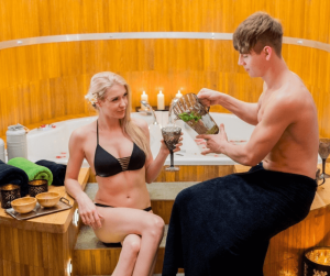 Unwind at a spa