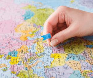 Pick a random travel destination