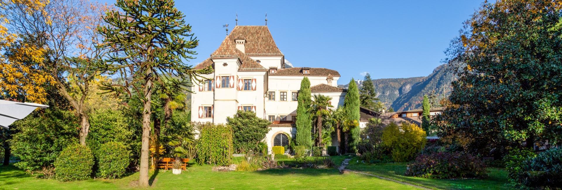 Hotel Castel Rundegg in Merano
