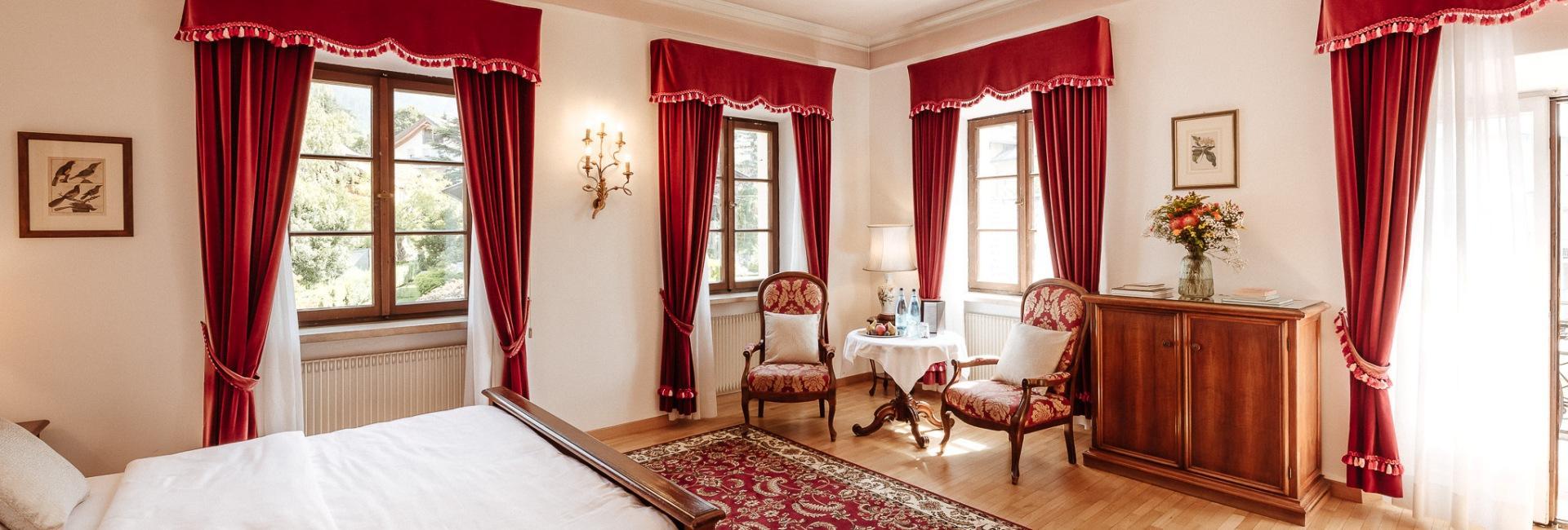 Room at Hotel Castel Rundegg in Merano