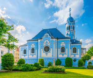 St Elizabeth's Church (Blue Church)