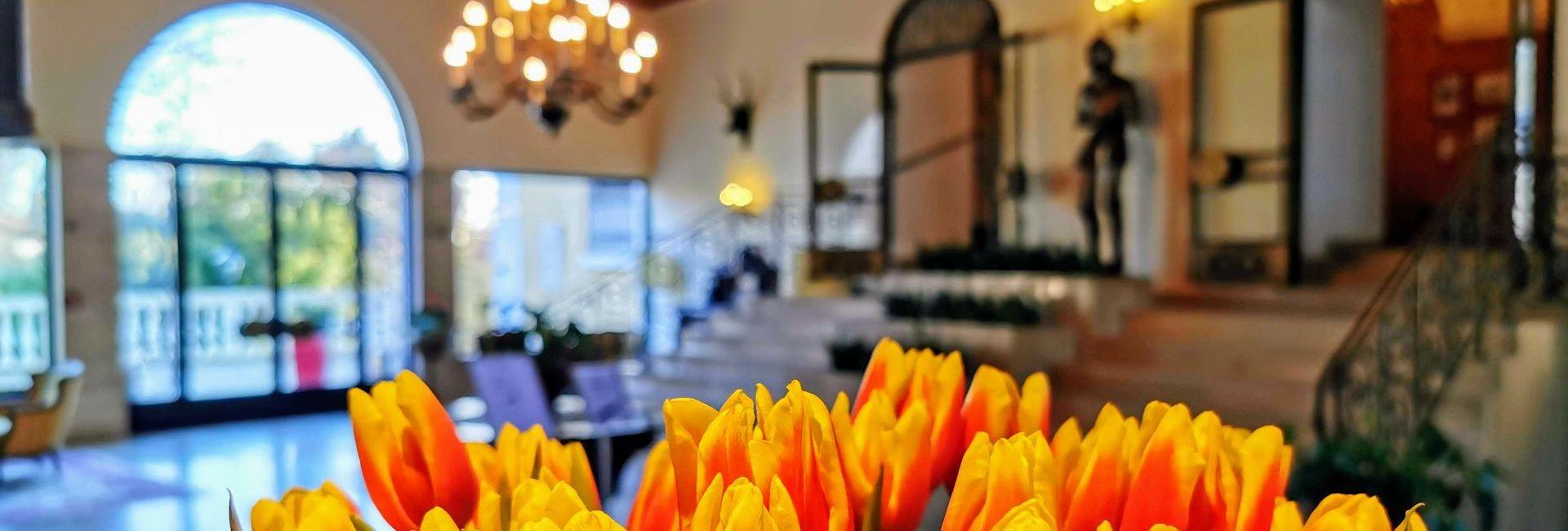 Lobby of Castle Hotel Weikersdorf