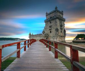 2) Wonder at Torre de Belém