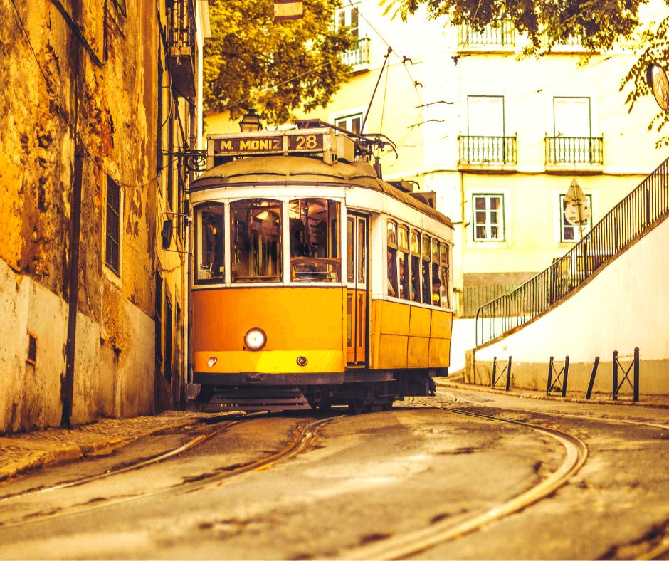 5) Ride Tram 28