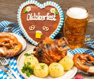 Food at Oktoberfest